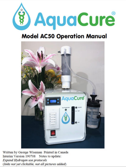 AquaCure AC50 front cover